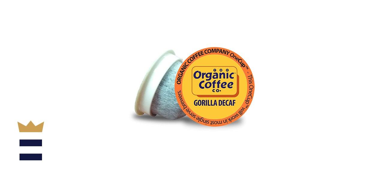 Organic Coffee Co. Gorilla Decaf - 80 Count