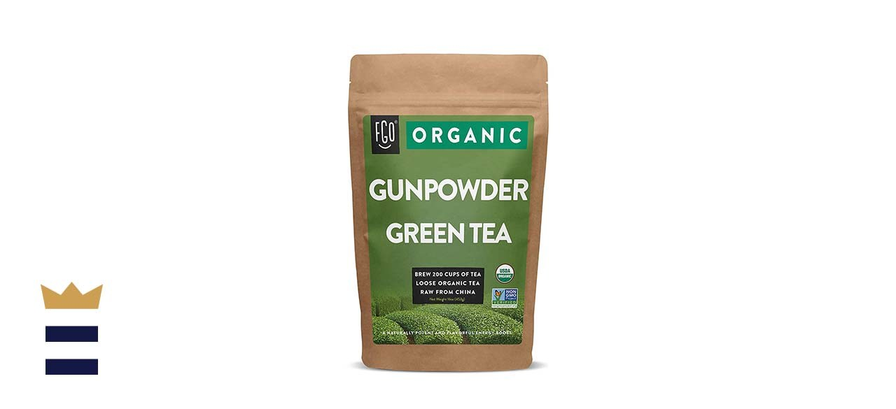 Organic Gunpowder Green Loose Leaf Tea