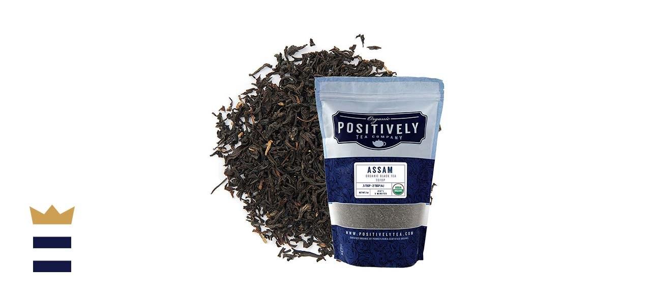 Organic Positively Tea Company Assam TGFOP Black Tea
