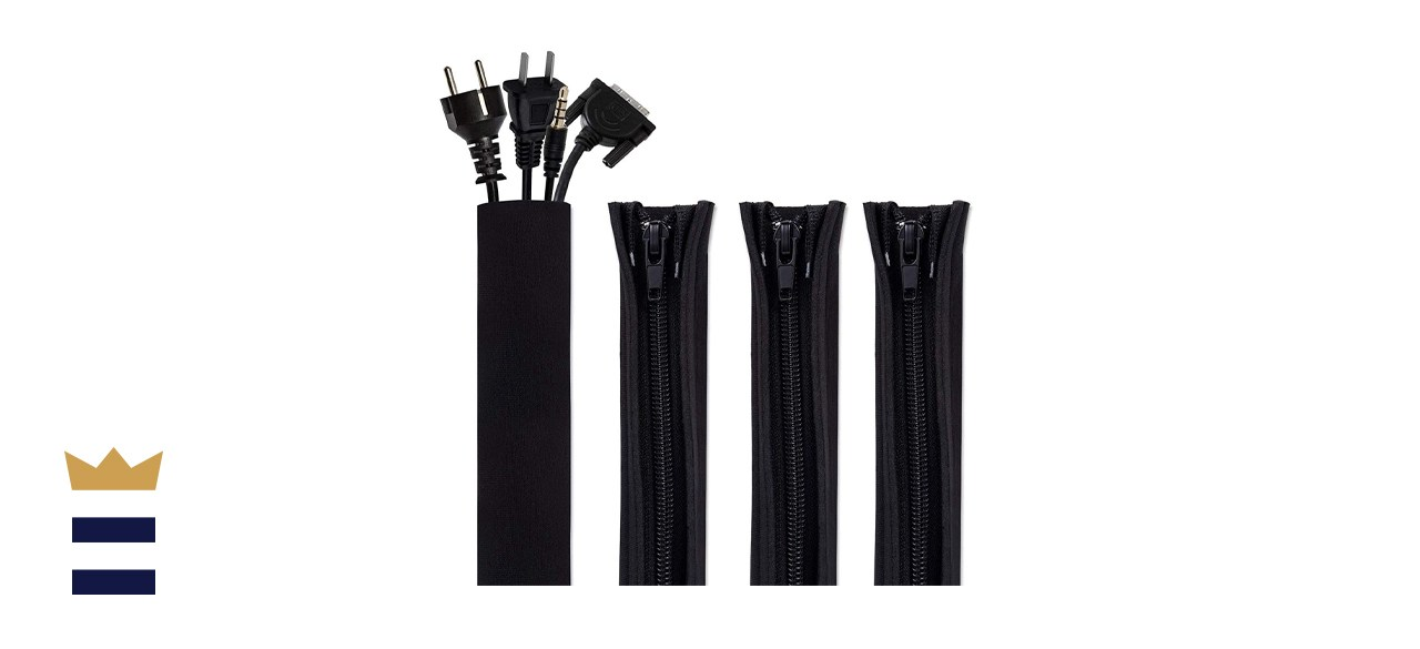 Bestfy Cord Organizer System Cable Management Sleeve