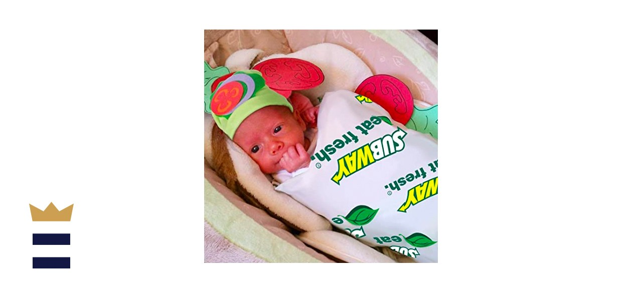 ORIENTAL CHERRY Baby Halloween Sandwich Blanket Costume with Hat