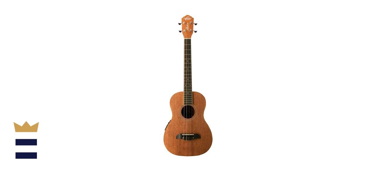 Oscar Schmidt OU52E Mahogany Baritone Acoustic Electric Ukulele