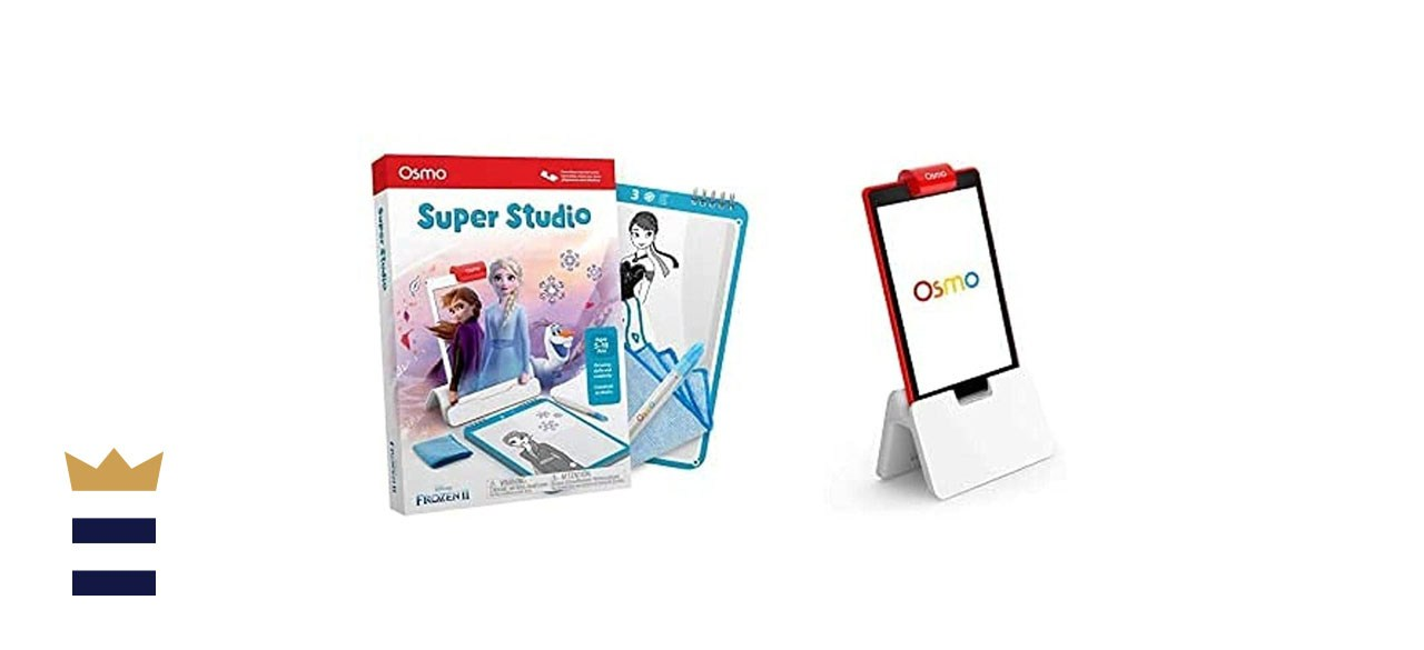Osmo - Super Studio Disney Frozen 2 Game + Osmo Fire Tablet Base Bundle (Ages 5-11)