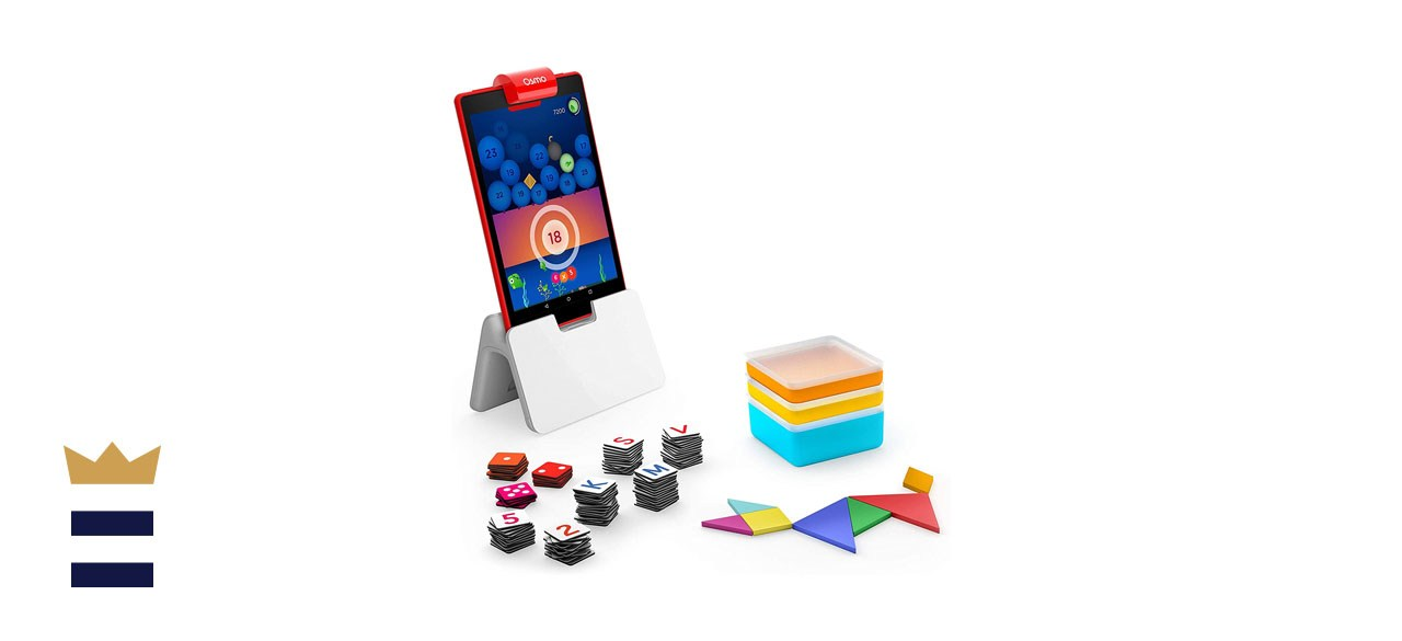 Osmo Genius Starter Kit for Fire Tablet - Ages 6-10 - Math, Spelling, Creativity & More