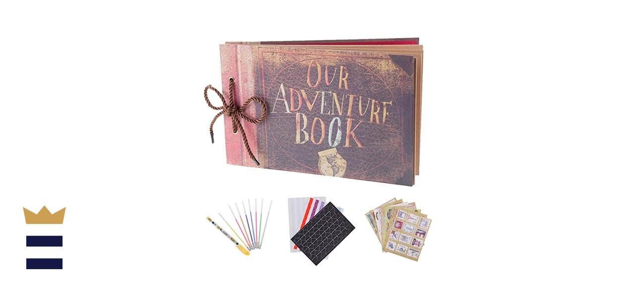 Our Adventure Book Scrapbook
