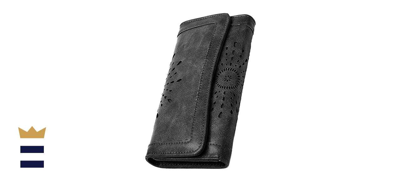 OURBAG Women's Faux Leather Wallet