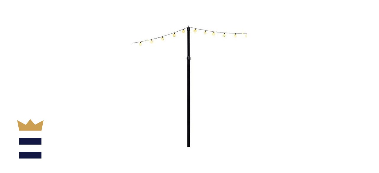 Outdoor String Light Pole with Mount Kit