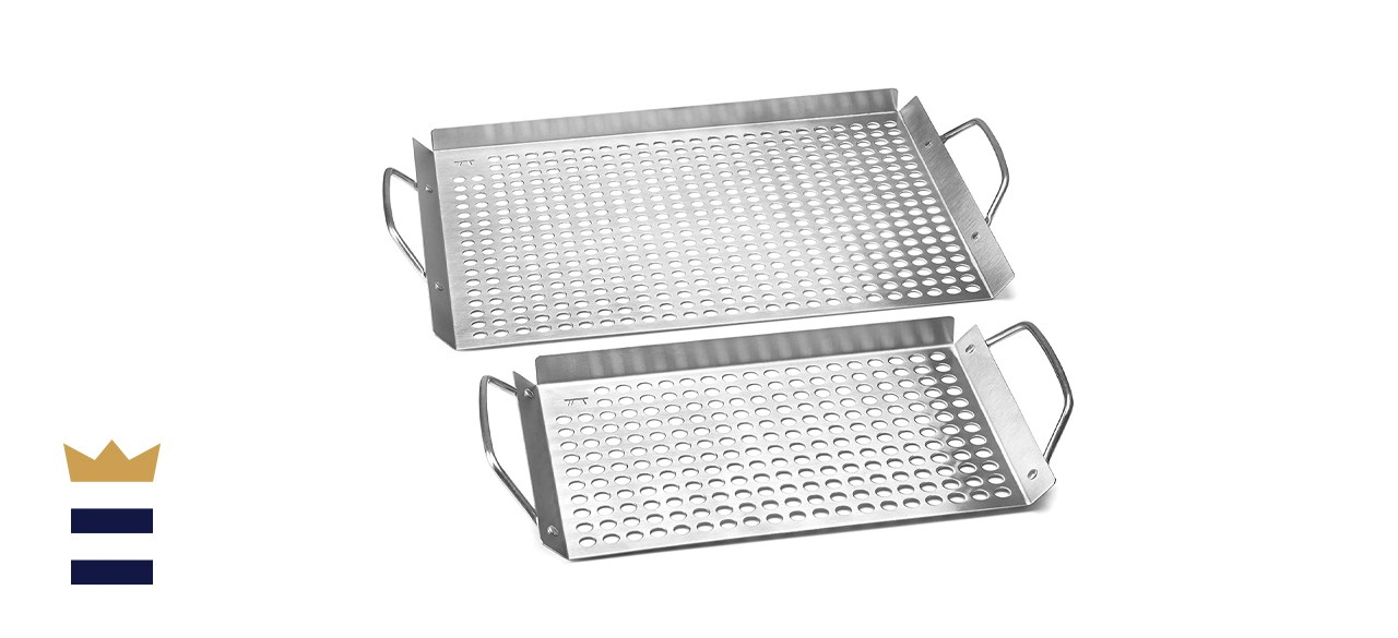 Outset Stainless Steel Grill Topper Grids