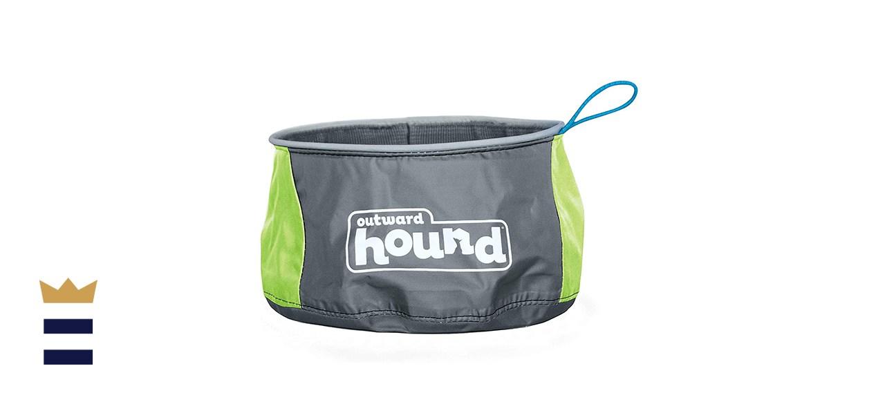 Outward Hound Port-A-Bowl Pet Bowl