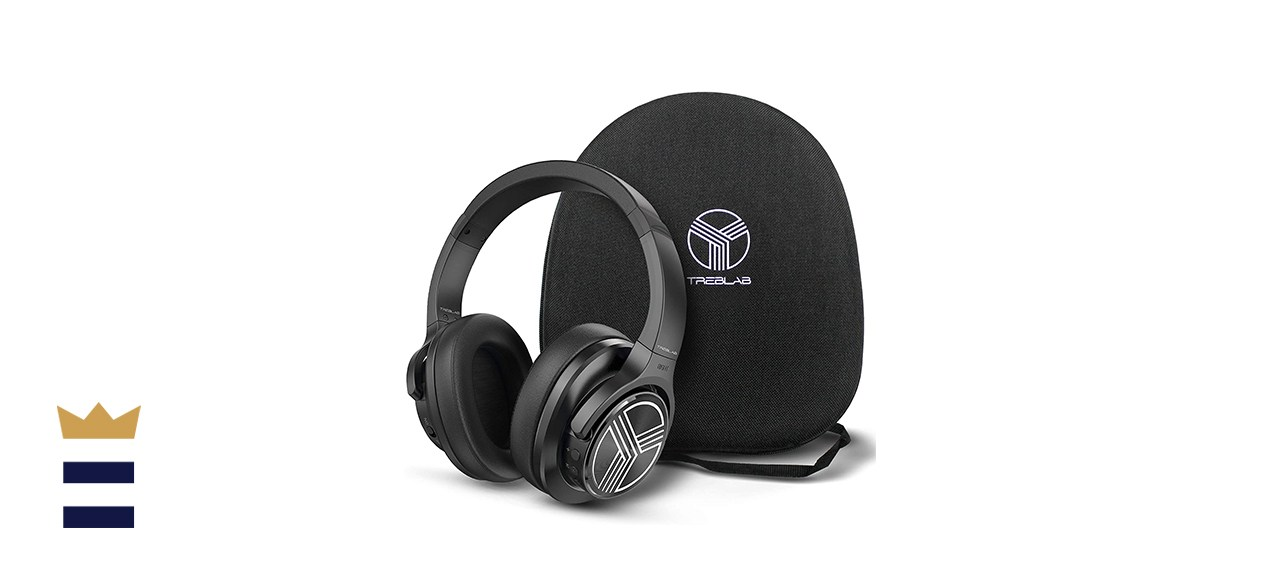 TREBLAB Z2 | Over Ear Workout Headphones with Microphone