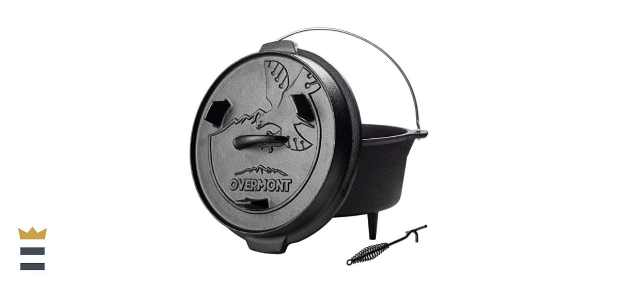 Overmont Camp Dutch Oven