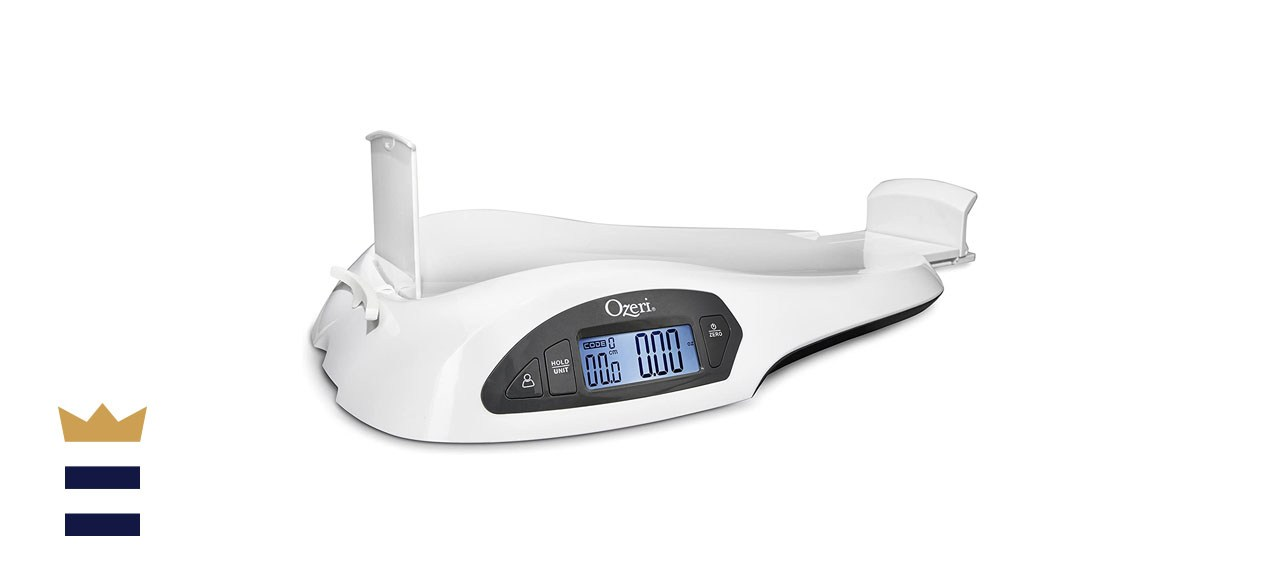 Ozeri Baby and Toddler Scale in White
