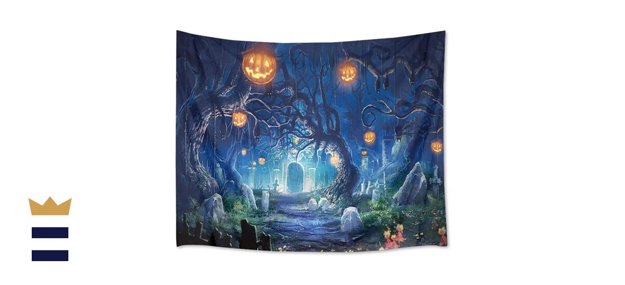 OZMI Halloween Tapestry