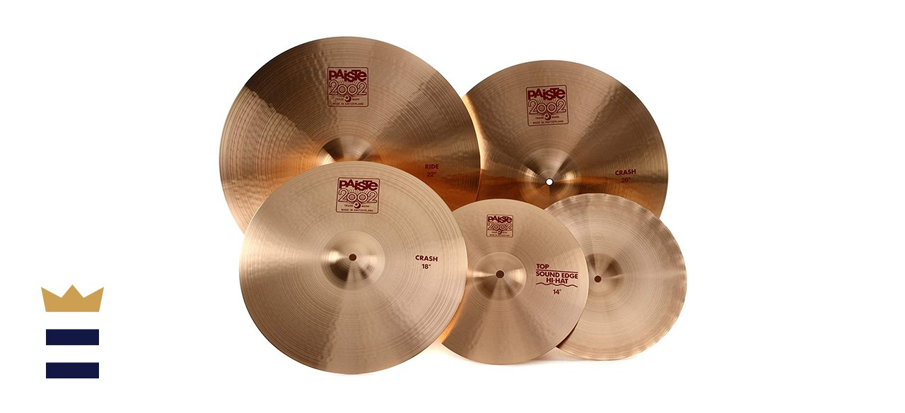 Paiste 106BS18 2002 Cymbal Pack With 2002-Style Bronze and Free 18-Inch Crash