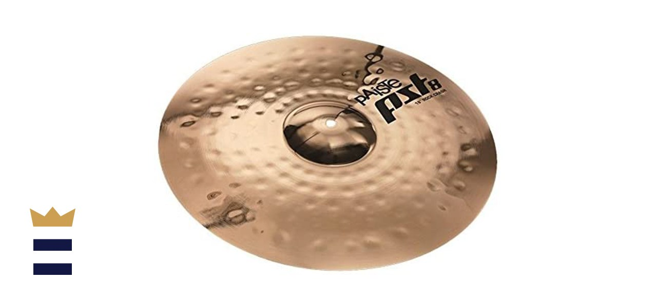 Paiste PST8 Reflector 16-Inch Rock Crash Cymbal Made With B8 Bronze