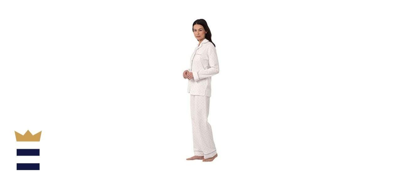 PajamaGram Cotton Jersey Pajama Set