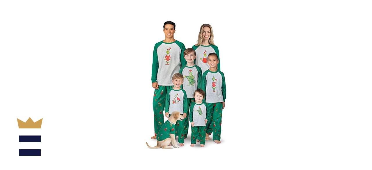 PajamaGram Grinch pajamas