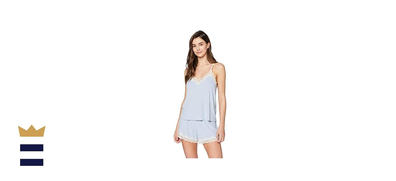 Iris & Lilly Women's Cotton Pyjama Set