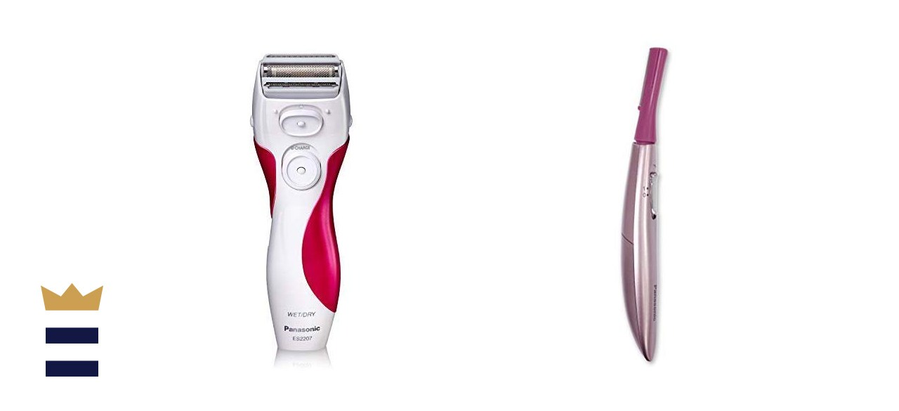 Panasonic Electric Shaver for Women and Facial Hair Trimmer for Women