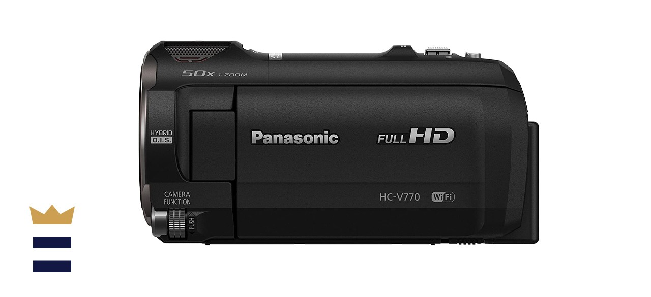 Panasonic HC-V770K Camcorder with Wi-Fi