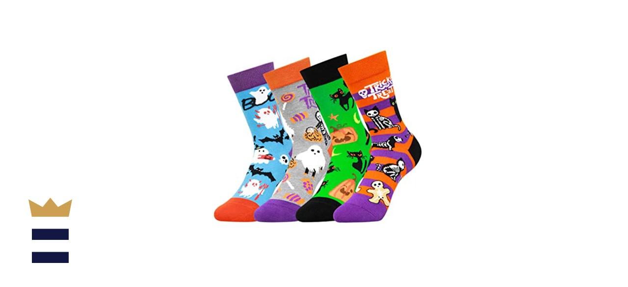 PanPacSight Kids' Halloween Novelty Funny Socks