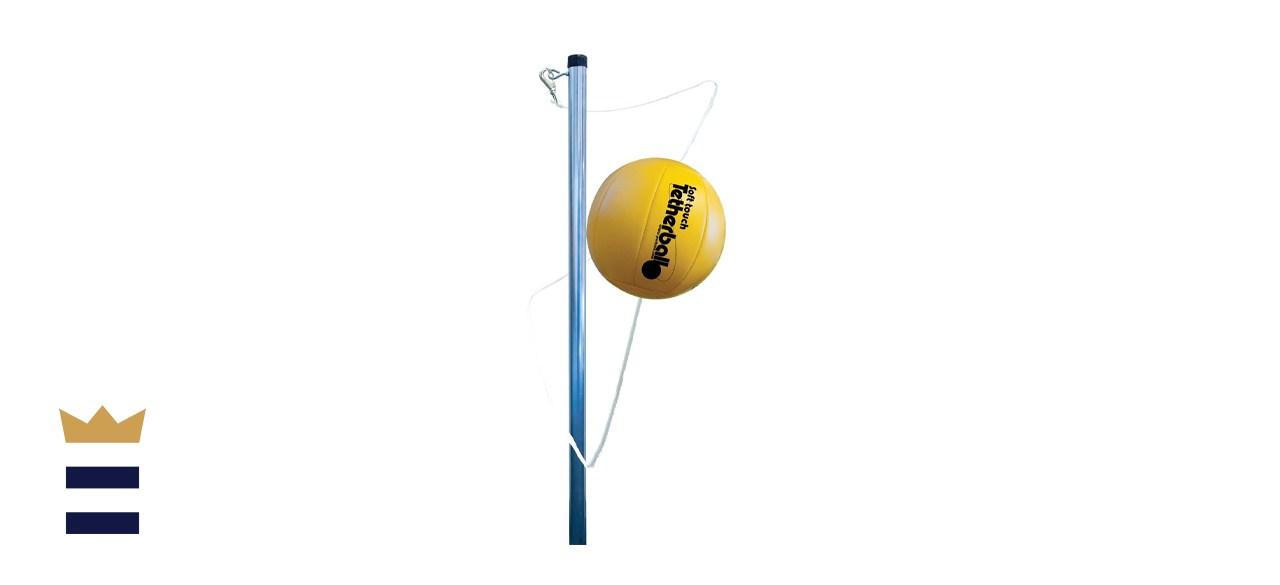 Park & Sun Sports Permanent Outdoor Tetherball Set