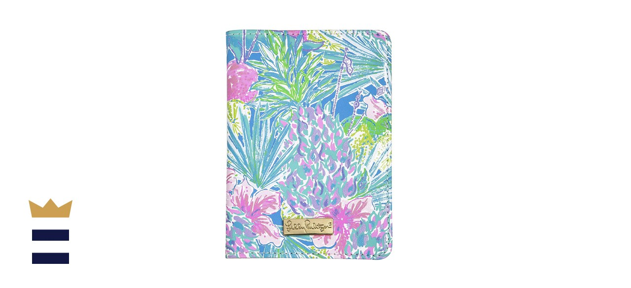 Lilly Pulitzer Passport Cover/Holder/Wallet with Card Slots