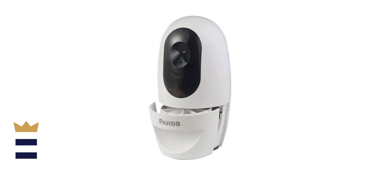 Pawbo+ WiFi Interactive Pet Camera and Treat Dispenser
