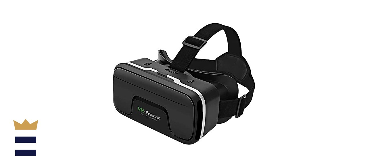Pecosso 3D Virtual Reality Goggles VR Headset for iPhone