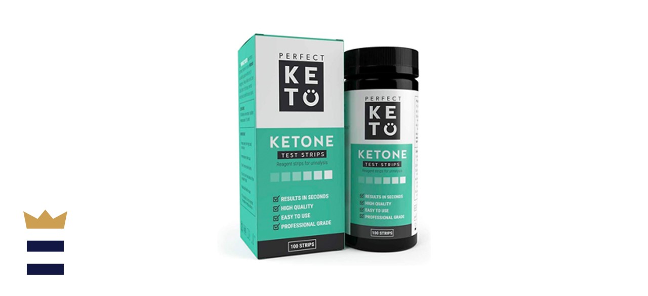 Perfect Keto Test Strips - Best for Testing Ketones in Urine on Low Carb Ketogenic Diet