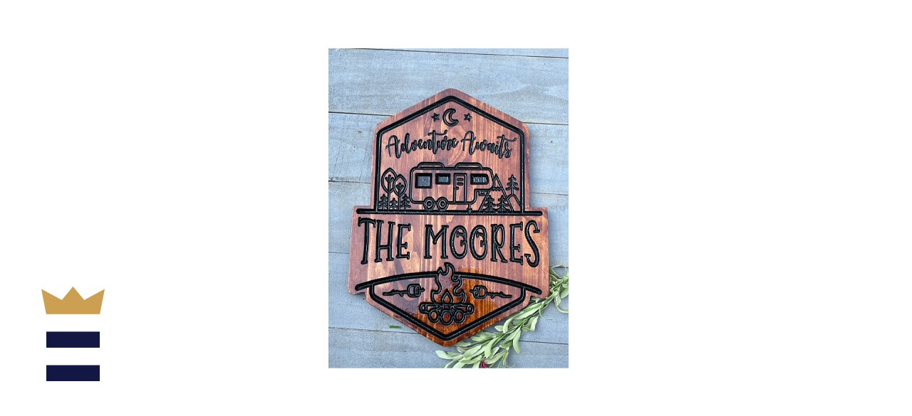 Personalized Engraved RV Sign