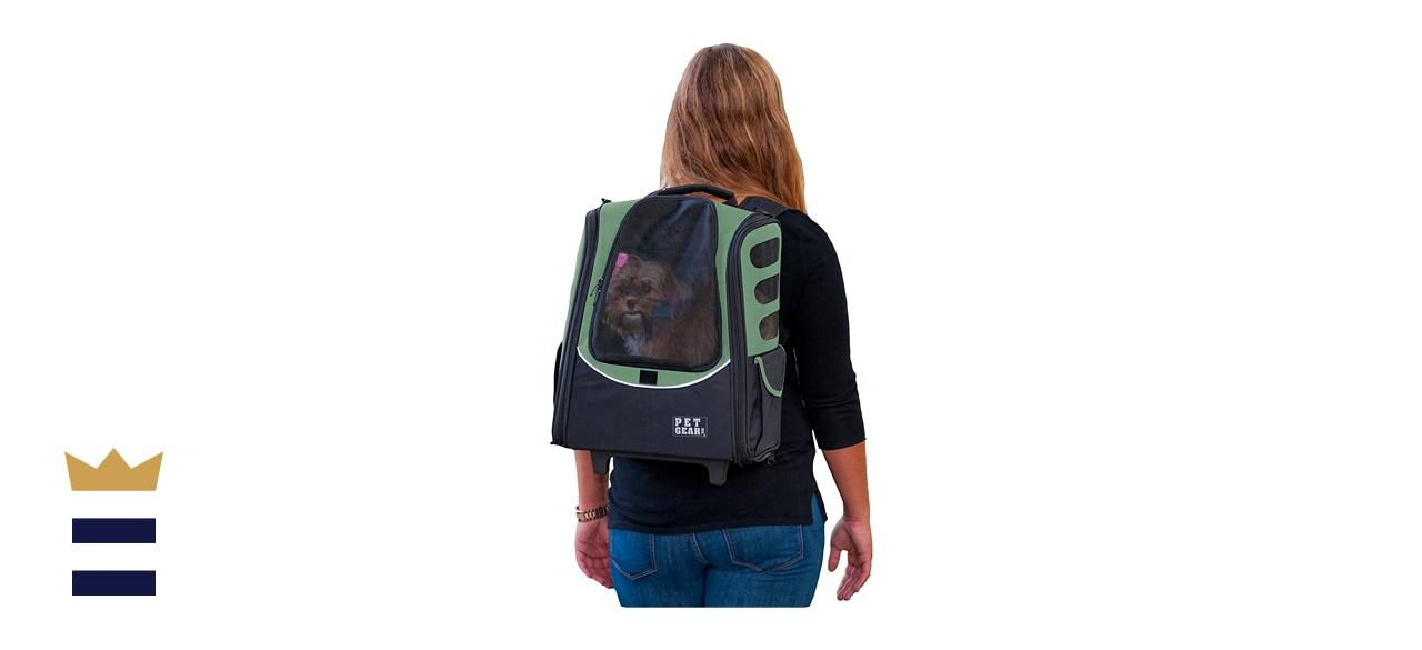 Pet Gear I-GO2 Escort Dog & Cat Carrier Backpack