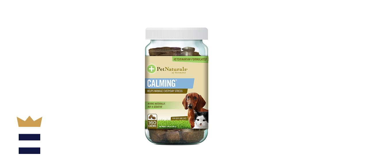 Pet Naturals of Vermont Calming Behavioral Support Supplement for Dogs and Cats