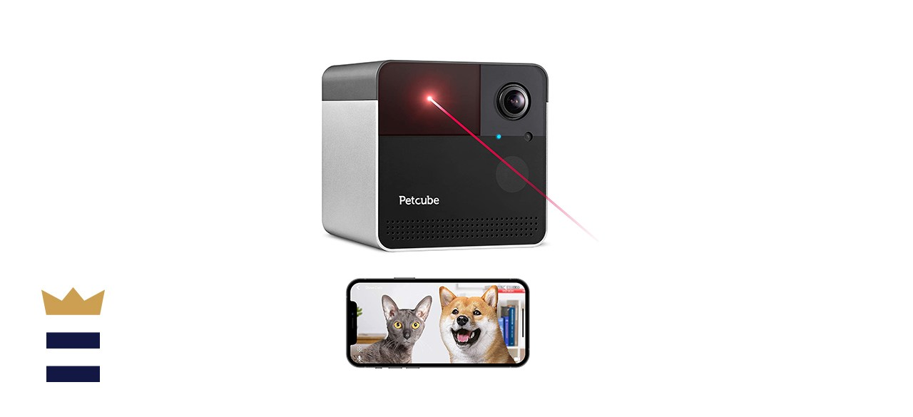 Petcube Play 2 Wi-Fi Pet Camera with Laser Toy & Alexa Built-In, for Cats & Dogs