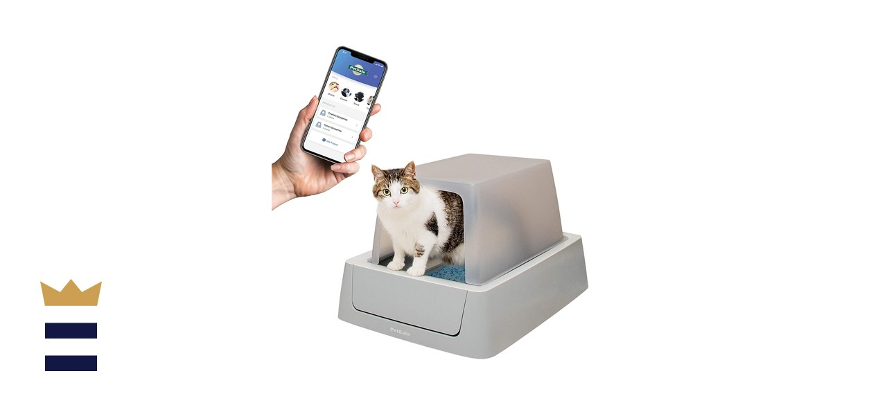 PetSafe ScoopFree Smart Covered Self-Cleaning Cat Litter Boxes