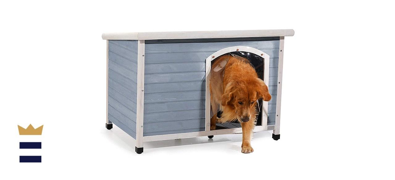 Petsfit Weatherproof Outdoor Dog Kennel with Raised Feet