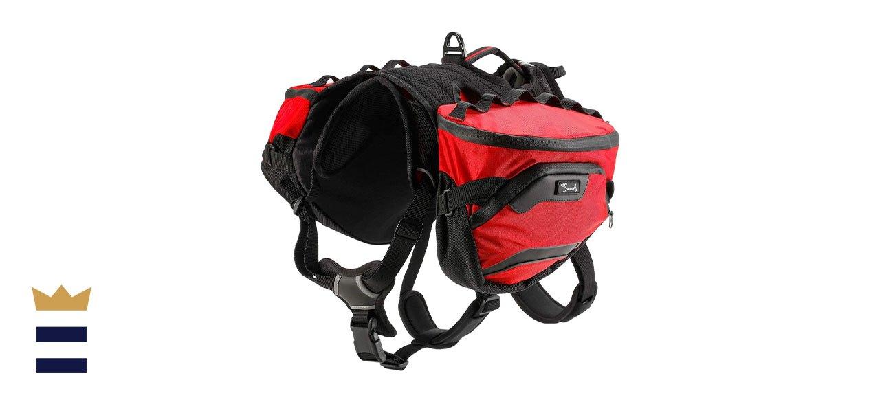 Pettom Dog Hiking Harness Backpack