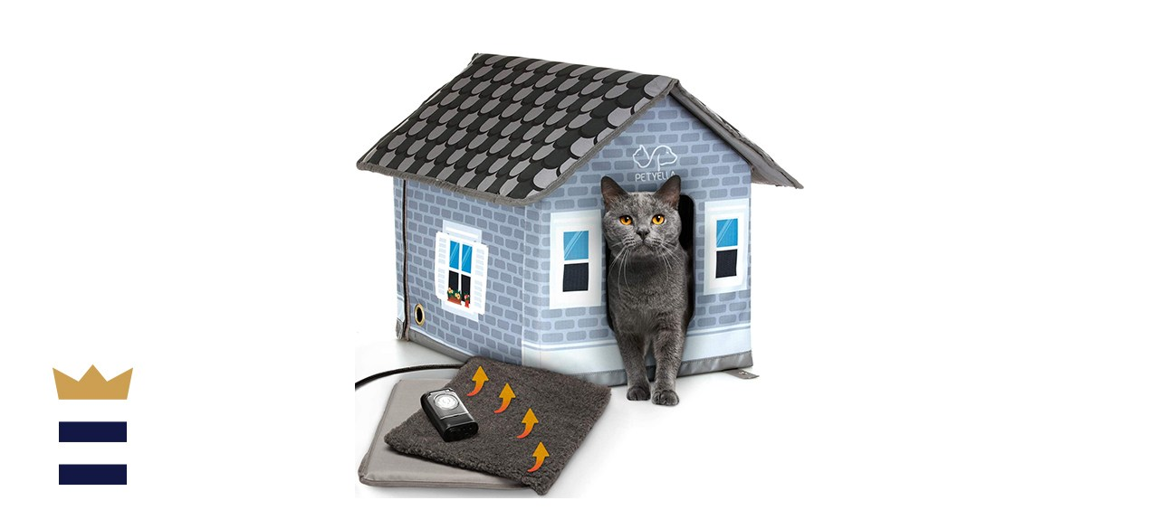 Petyella heated cat house