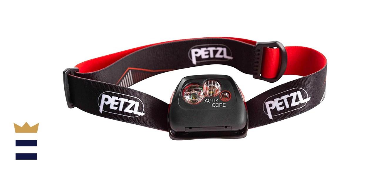 Image of the Petzl headlamp