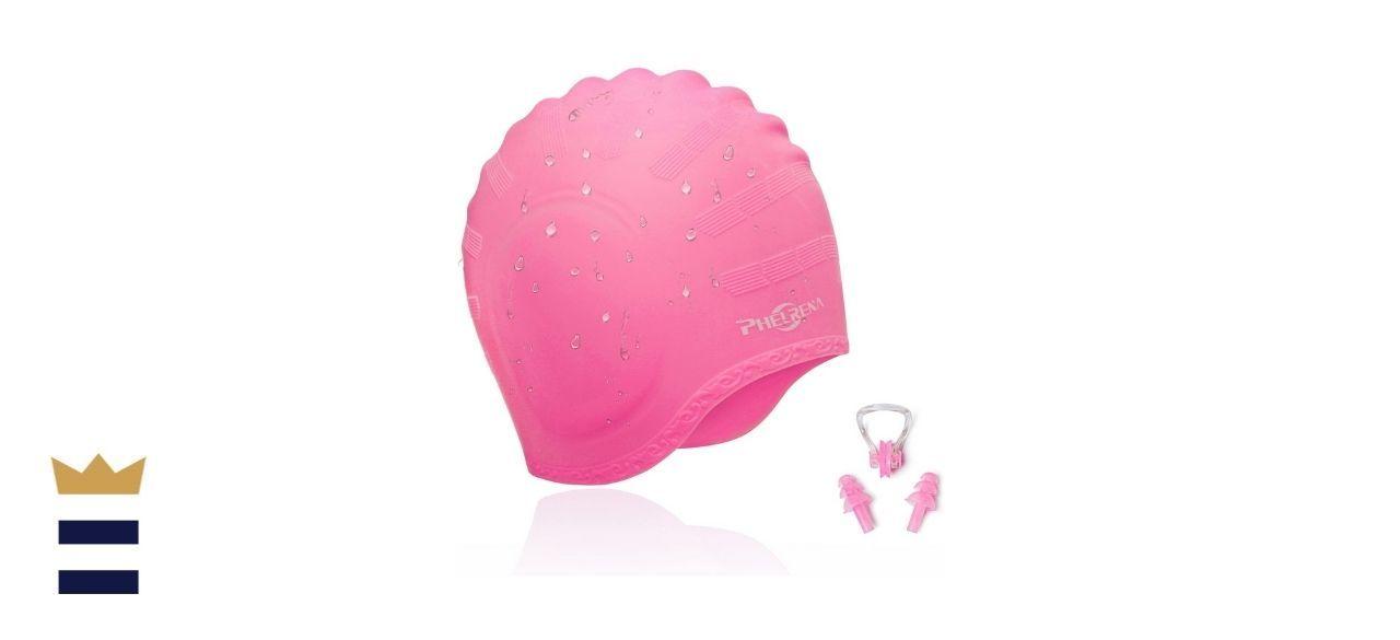 Phelrena's Waterproof Swimming Cap