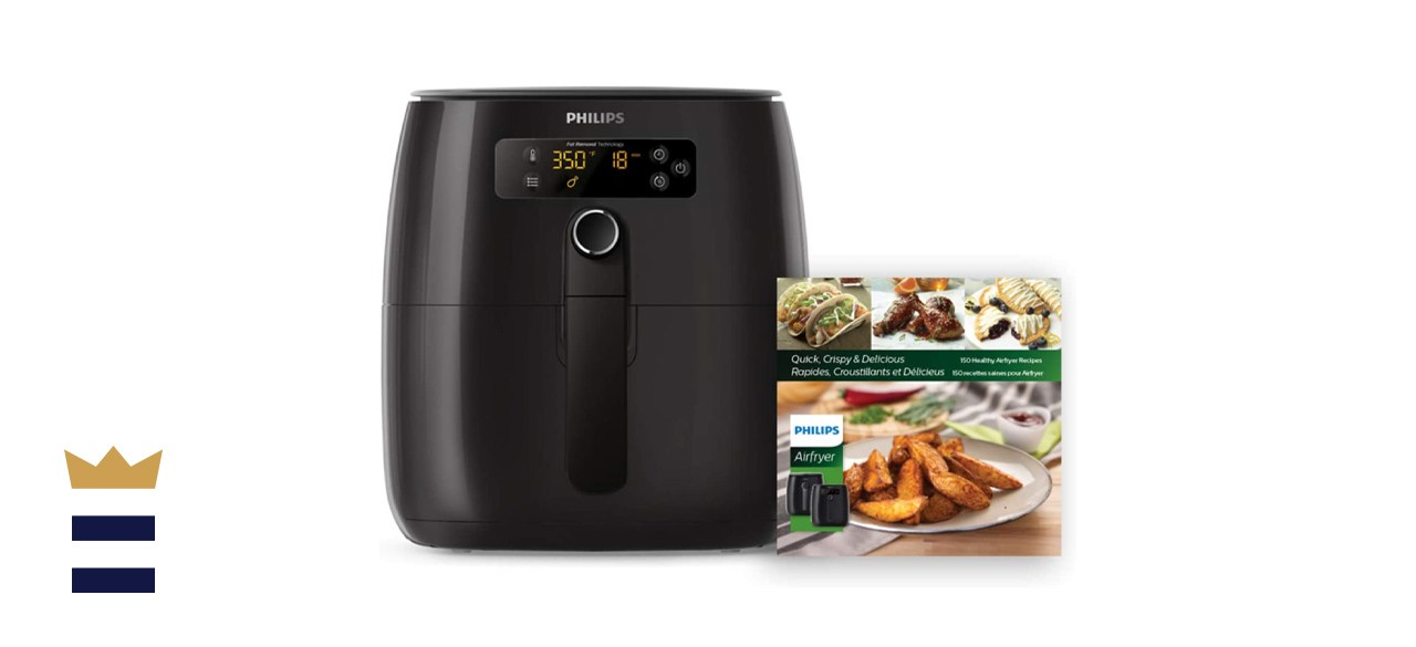 Philips 3-Quart Premium Digital Air Fryer with Fat Removal Technology