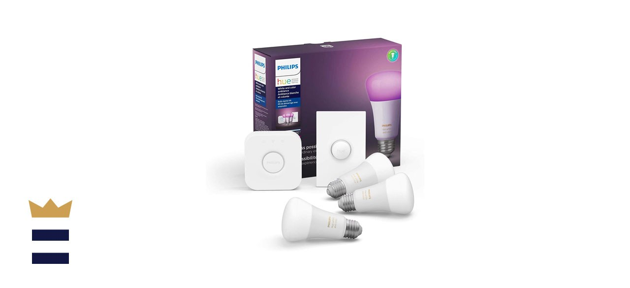 Philips Hue White and Color LED Smart Button Starter Kit