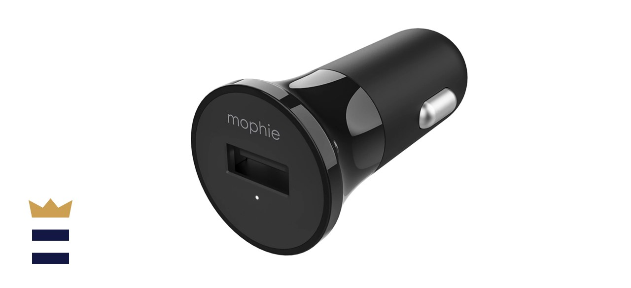 mophie USB A Car Charger 12w