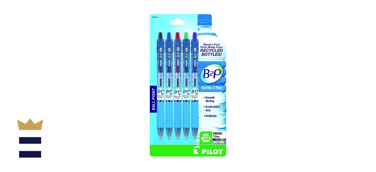 PILOT B2P Bottle to Pen Refillable Ballpoint Pens
