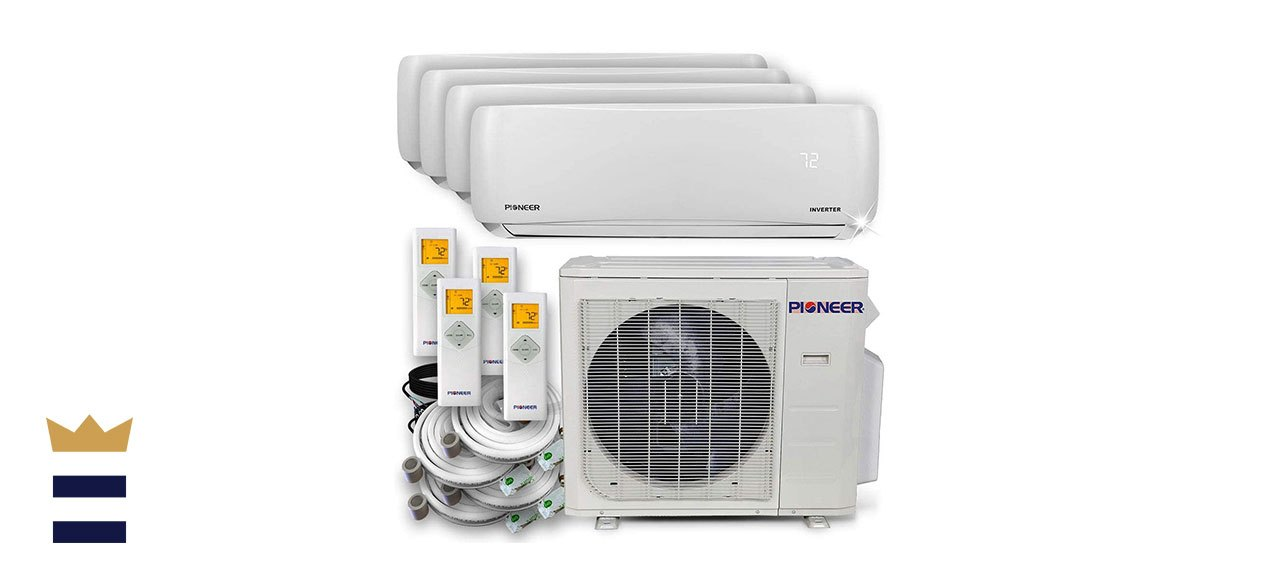 Pioneer's Ductless Wall-Mount Multi-Split System Air Conditioner and Heat Pump