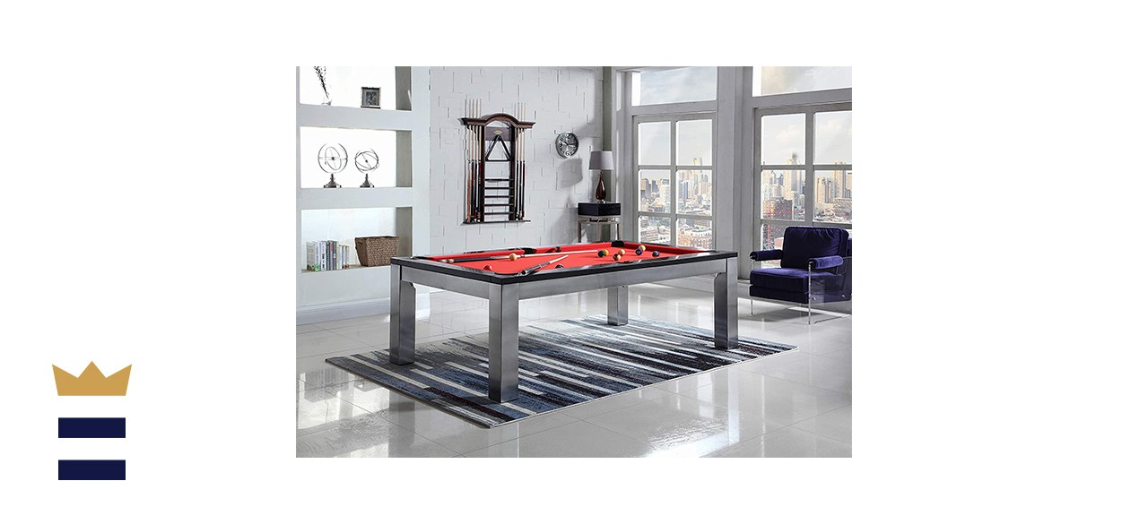 Playcraft Monaco 8-Foot Slate Pool Table with Dining Top