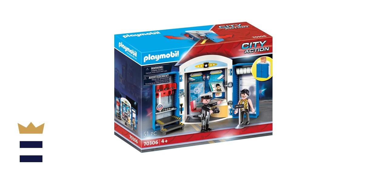 Playmobil Police Station Play Box