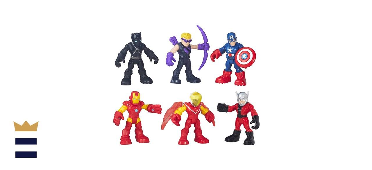 Playskool Heroes Captain American Jungle Squad