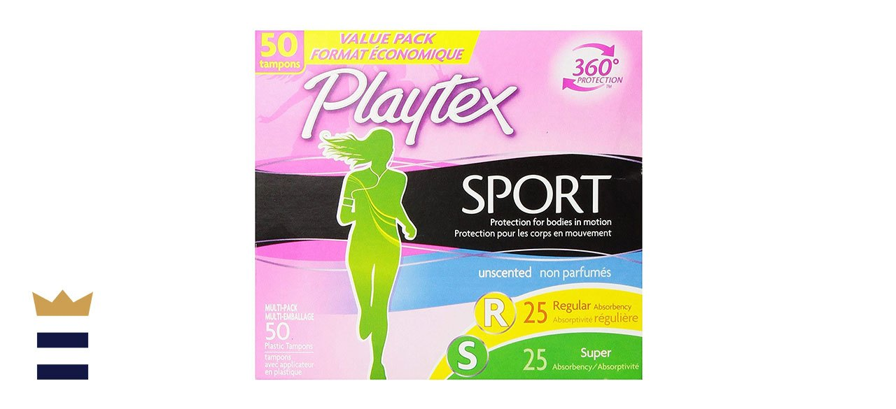 Playtex's Sport Regular and Super Multipack