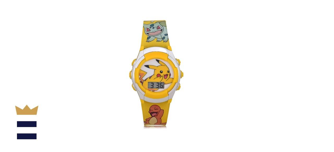 Pokémon Kids' Quartz Watch with Plastic Strap